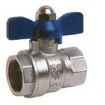 THREADED BALL VALVE with butterfly